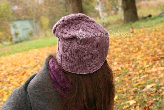 Wzór czapki na drutach