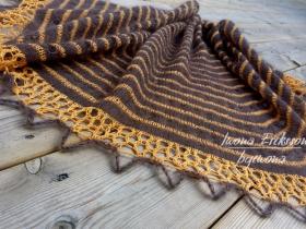 Chusta na drutach